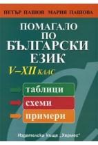 Помагало по български език 5. - 12. клас (таблици, схеми, примери)