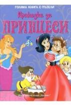 Приказки за принцеси (Голяма книга с пъзели)